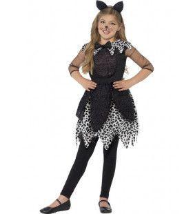 Luxe Snoezige Kat Meisje Kostuum