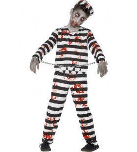 Zombie Gevangene Jongen Kostuum