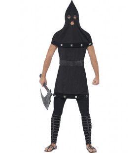 Zwarte Beul Man Kostuum