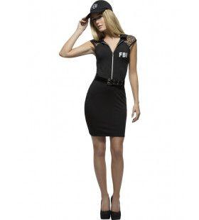Hete Fbi Agente Vrouw Kostuum