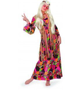 Smoking Hippie Lange Jurk Vrouw