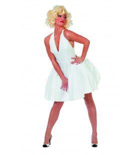 Miss Hollywood Marylins 50th Birthday Vrouw Kostuum