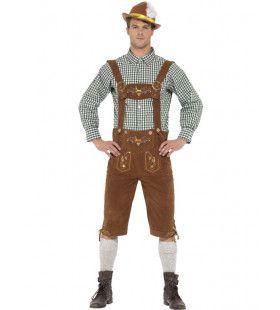 Luxe Beierse Lederhosen Met Hemd Hanz Man Kostuum