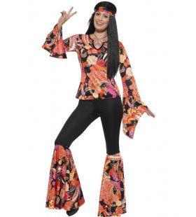 Hippie Emma-Lee Vrouw Kostuum