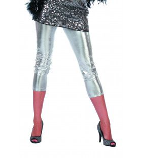 Bling Zilveren Legging