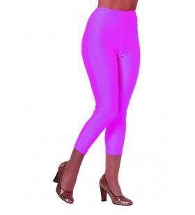 Roze 3 / 4 Legging Vrouw