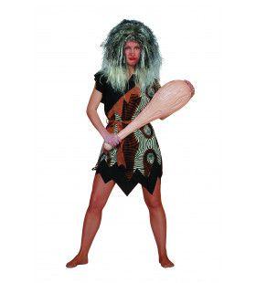 Prehistorisch Oermens Velboa Afrika Vrouw Kostuum