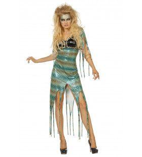 Muse Van Medusa Vrouw Kostuum