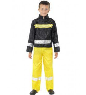 Brandweerman Kostuum Jongen Modern