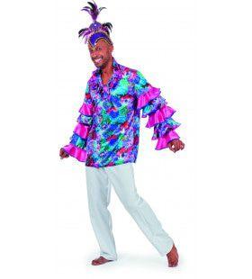 Dushi Korsow Carribean Overhemd Man Kostuum