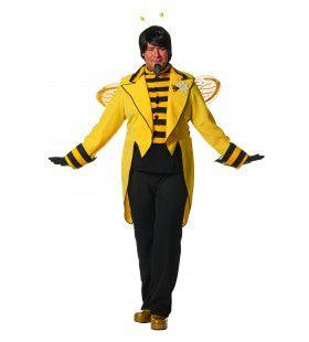 Chique Bijenkoning Man Kostuum