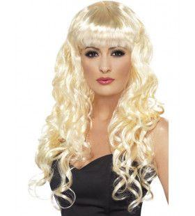 Siren Blonde Pruik