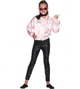 Officieel Grease Roze Dame Jasje Meisje