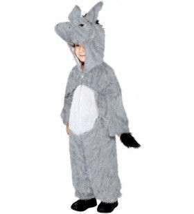 Ezel Grijs Kind Kostuum