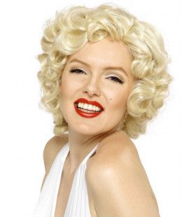 Officiele Marilyn Monroe Blonde Pruik
