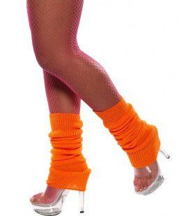 Legwarmers Neon Oranje Vrouw