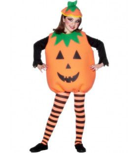Pompoen Halloween Kind Kostuum