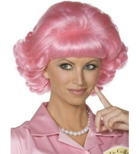 Officiele Grease Frenchy Pruik Vrouw