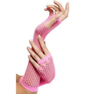 Hete Lange Vingerloze Visnet Handschoenen Vrouw