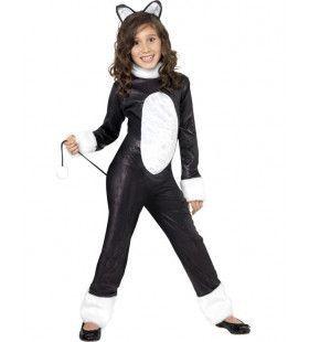 Kind Cool Cat Kostuum Meisje