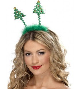 Kerst Diadeem Met Antennes