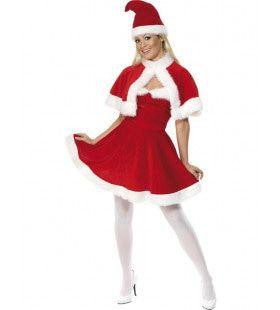 Lieve Kerstvrouw Vrouw Kostuum