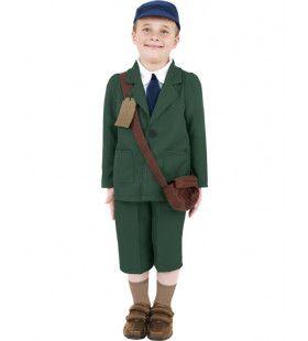 Tweede Wereldoorlog Vluchtelingkostuum Jongen Kostuum