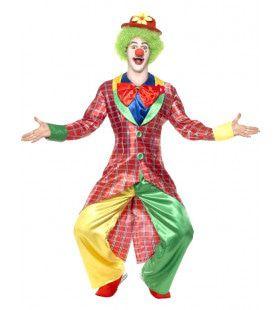 La Circus Clown Man Kostuum
