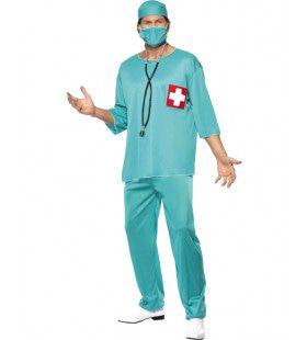 Chirurg Man Kostuum