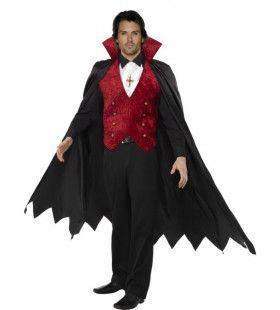 Vampier Man Lange Cape