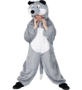 Kind Wolf Kostuum