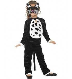 Kinder Halloween Kat Kostuum Meisje