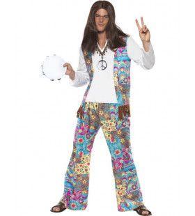Hippie Man Kostuum Woodstock