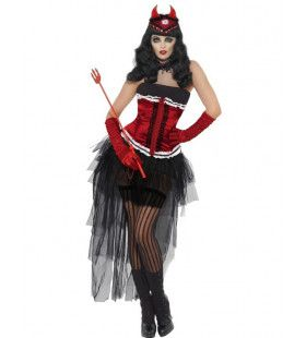 Diva Demonique De Vil Vrouw Kostuum
