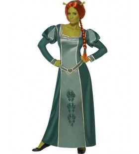 Prinses Fiona Shrek Vrouw Kostuum