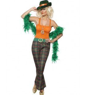 Vrouw Pimp Vrouw Kostuum