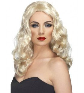 Glamour Pruik Blond