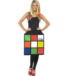 Rubiks Kubus Jurk Vrouw