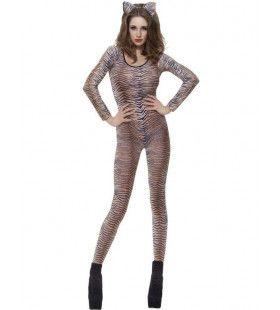 Tijger Body Uit Vrouw Kostuum
