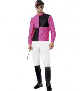 Jockey Man Kostuum