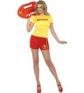 Vrouwen Baywatch Vrouw Kostuum