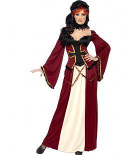 Gotische Vampier Kostuum Akelara Vrouw