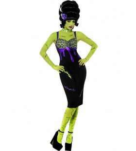 Bruid Van Frankenstein Vrouw Kostuum