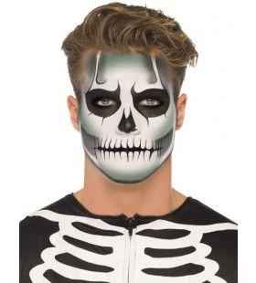 Glow-In-The-Dark Skelet Make-Up Set