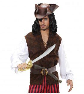 Piratenshirt Met Vest Man