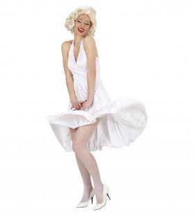 Marilyn Vrouw Kostuum
