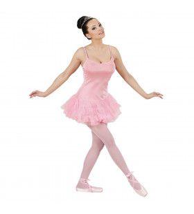 Prima Ballerina Roze Vrouw Kostuum