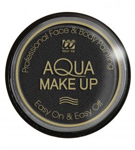 Aqua Make-Up Zwart 15 Gram