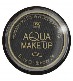 Aqua Make-Up Zwart 30 Gram
