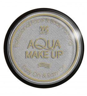 Aqua Make-Up Metallic Zilver 15 Gram